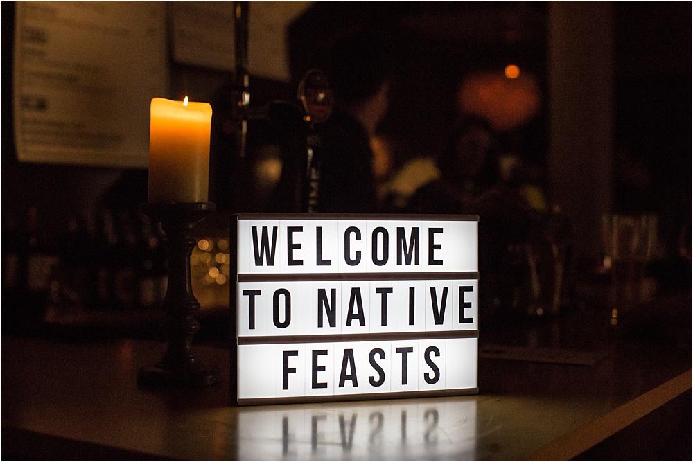 native feasts pop up restaurant