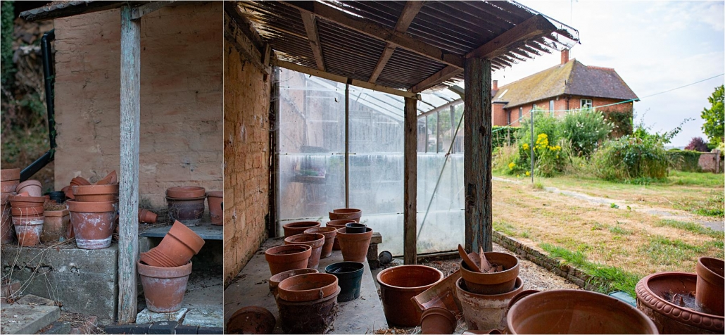 Teracotta pots left undisturbed social history photography