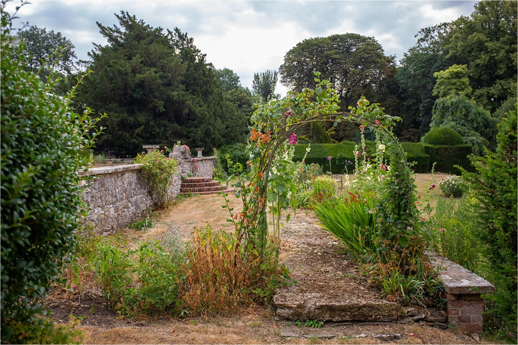 The more formal garden area social history photography oxfordshire